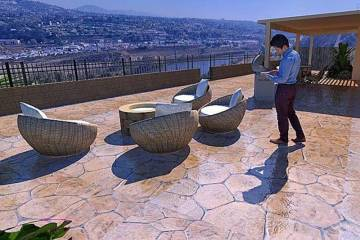 Hardscape Contractor San Diego - Stamped Cement Patio 5